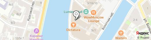 Burlington на карте Москвы