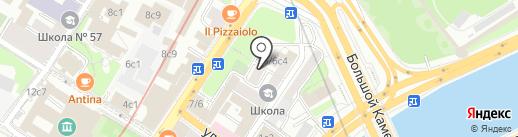 Корпоративная Защита на карте Москвы