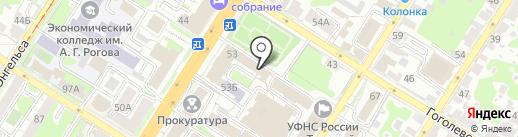 Счастливый Чемодан на карте Тулы