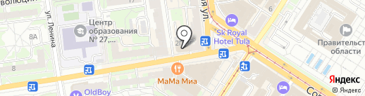 Allrent на карте Тулы