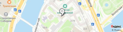 Студия стекла на карте Москвы