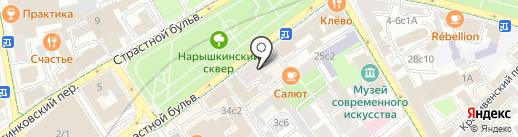 Товарищество режиссеров на карте Москвы