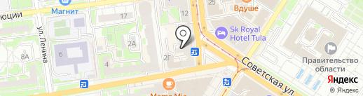 ПТФ БетонБаза на карте Тулы