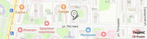 Oren Buff на карте Москвы
