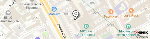 Правовой стандарт на карте Москвы
