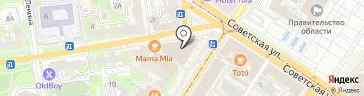 Академия приключений на карте Тулы
