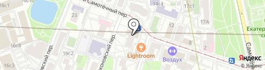 Инвесткапстрой на карте Москвы