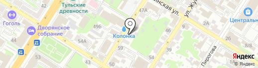 МАСТЕР на карте Тулы