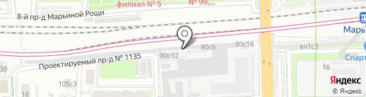 Маркет-Логистик на карте Москвы