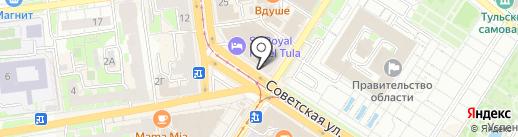 ТПК Опт на карте Тулы