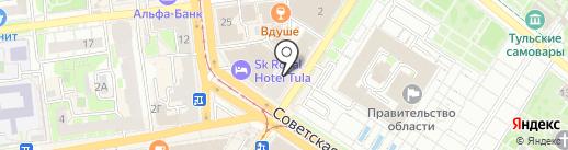 Партнёр на карте Тулы