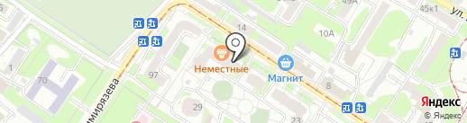 Эталон, ЗАО на карте Тулы
