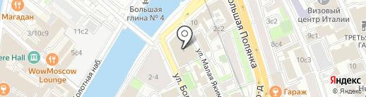Ковлер и партнеры на карте Москвы