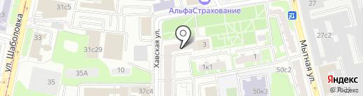 Доблесть и мужество на карте Москвы