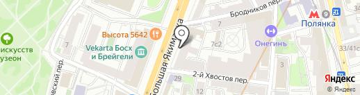 Химчистка №1 на карте Москвы