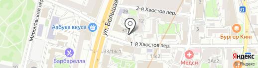 Посольство Республики Южный Судан в г. Москве на карте Москвы