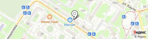 Адвокатское бюро Советского района города Тулы на карте Тулы