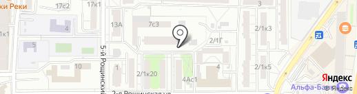 C.S.A. на карте Москвы