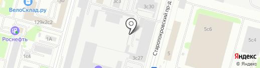 Стеклянные Интерьеры на карте Москвы