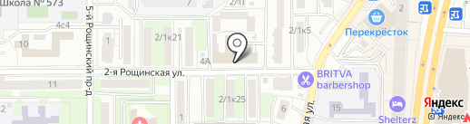 СтройИндустрия на карте Москвы