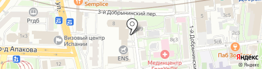 Посольство Малайзии в г. Москве на карте Москвы