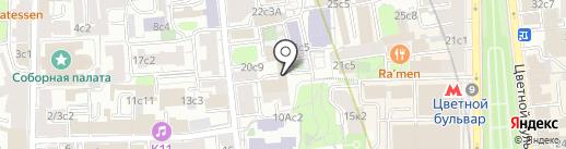 Ask Q на карте Москвы