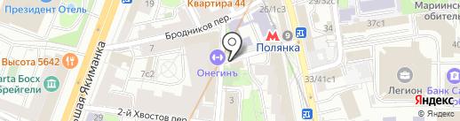 Сытый ёжик на карте Москвы