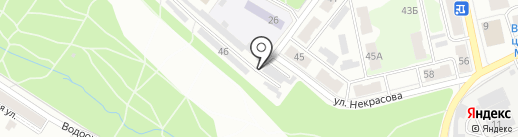 Асском на карте Тулы