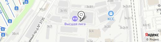 Юнион СБ на карте Москвы
