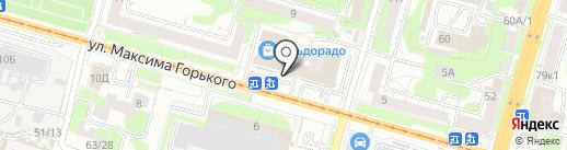 СПАР ТУЛА на карте Тулы