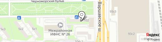 Микроленд на карте Москвы