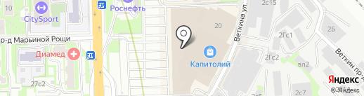 Manicure me на карте Москвы