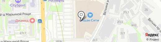 Магазин аксессуаров для мобильных телефонов на карте Москвы