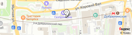 Посольство Республики Конго в г. Москве на карте Москвы