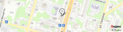 Тульская экспертно-оценочная компания на карте Тулы