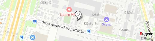 Kamchatikra.ru на карте Москвы