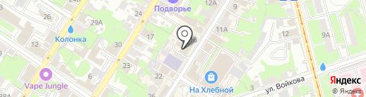 Самирбек на карте Тулы