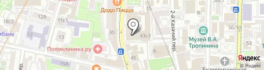 Группа Магнезит на карте Москвы