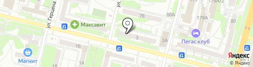 АЛЬФАМЕД на карте Тулы