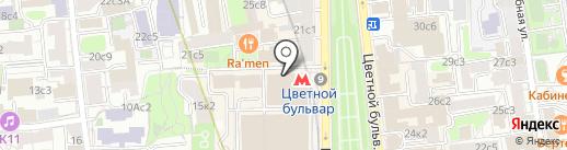 Нотариус Николаева М.В. на карте Москвы