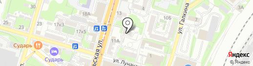 Межмуниципальный отдел МВД России по Тульской области особо важных режимных объектов на карте Тулы