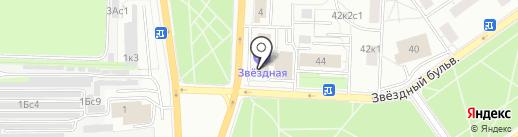 Смарт Технологии на карте Москвы