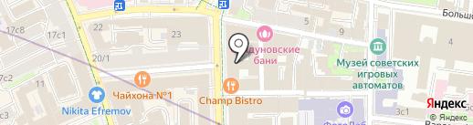 Коучинг Про на карте Москвы