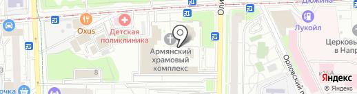 Тапан на карте Москвы