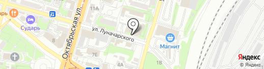 SNS Тула на карте Тулы