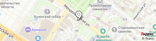 Коллегия адвокатов №1 г. Тулы на карте Тулы