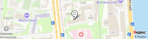 Полимер на карте Москвы