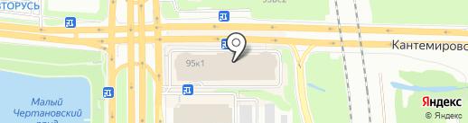 ServisHelp на карте Москвы