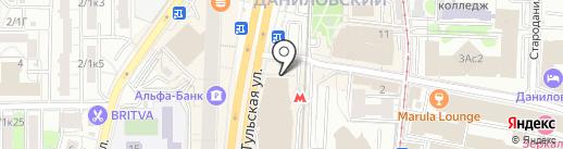 ПифПаф.рус на карте Москвы