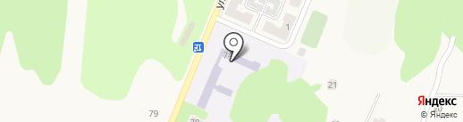 Первомайская кадетская школа на карте Советска